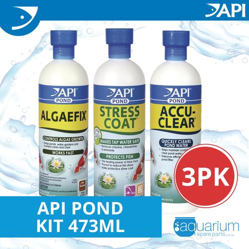 API Pond Kit 473ml (3 pack)