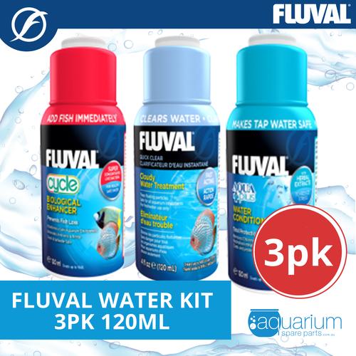 Fluval Water Kit 120ml (3 pack)
