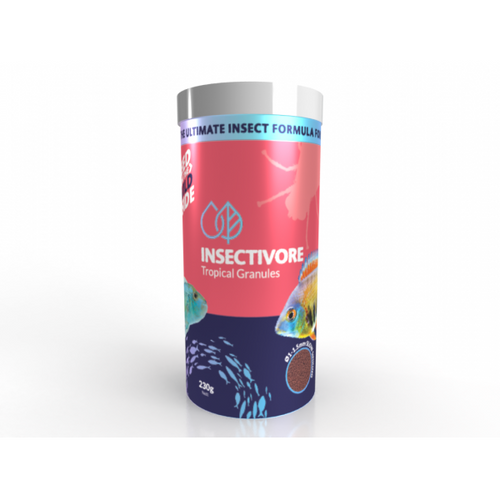 Bioscape Insectivore Tropical Granules 230g