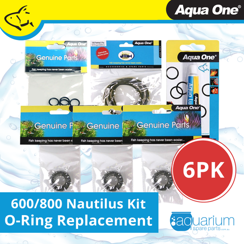 Aqua One Nautilus 600/800 Canister Filter O-Ring Replacement Kit
