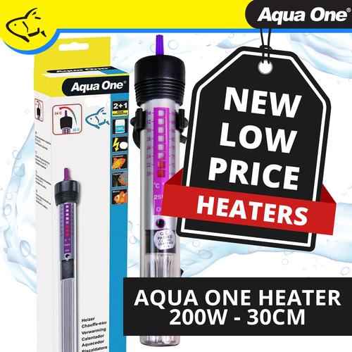 Aqua One Heater 200w - 30cm (11306)