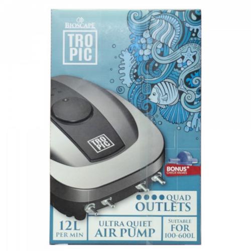 Bioscape Tropic Air Pump 8000 4 Outlet w/ 4 Check Valves