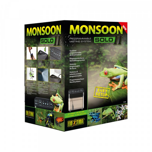 Exo Terra Monsoon Solo II - Reptile Mister