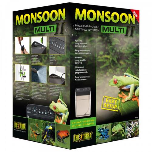 Exo Terra Monsoon Multi II - Reptile Mister