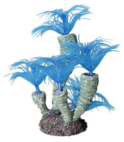 Aqua One Hermit Crab Tube Worm Blue Ornament 13x12x13.5cm (37185BL)