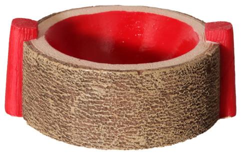 Aqua One Hermit Crab Round Bowl Red 6x7.5x3cm (37171R)