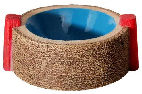 Aqua One Hermit Crab Round Bowl Blue 6x7.5x3cm (37171BL)