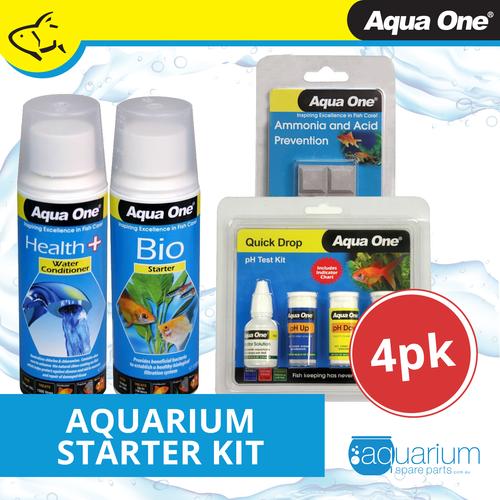 Aqua One Aquarium Starter Kit (4 pack)