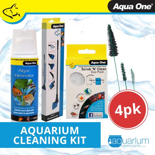 Aqua One Cleaning Kit (4 pack)