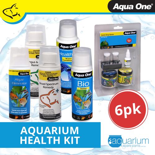Aqua One Health Kit (6 pack)