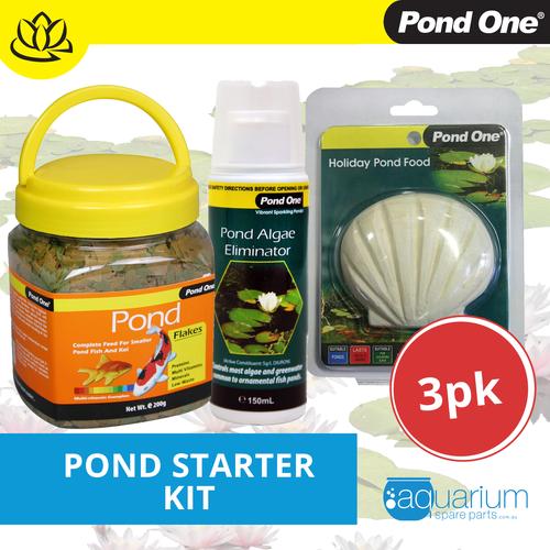 Pond One Pond Starter Kit (3 pack)