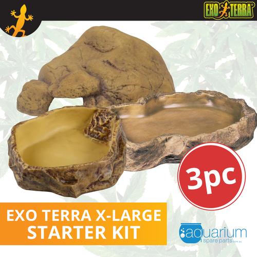 Exo Terra X-Large Starter Kit (3pc)