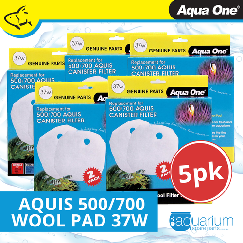 Aqua One Aquis 500/700 Wool Pad (2pc) 37w BULK BUY 5pk