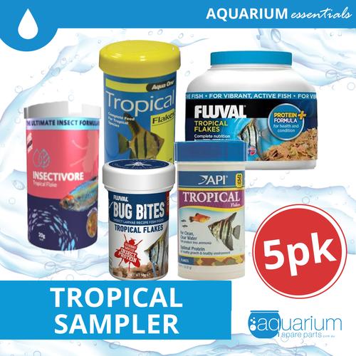 Tropical Fish Food Sampler Pack - 5pk