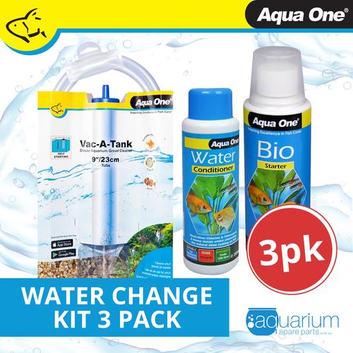 Aqua One Water Change Kit 3 Pack