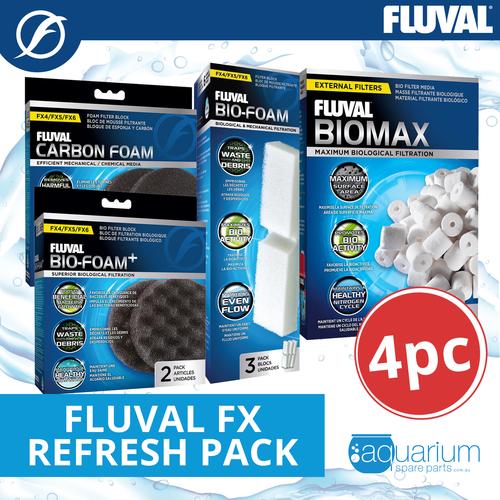 Fluval FX Refresh Pack (4pc)