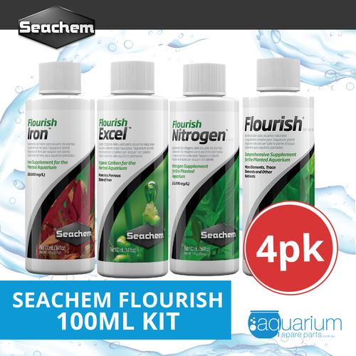 Seachem Flourish 100ml Kit (4pk)