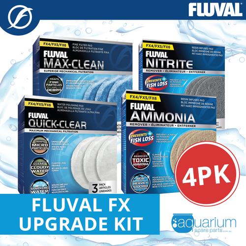 Fluval FX Upgrade Kit (4pk)