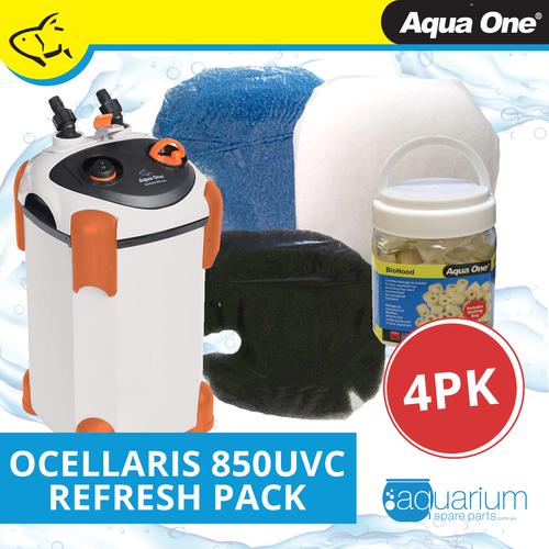 Aqua One Ocellaris 850UVC Refresh Pack (4pk)