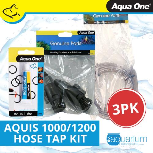 Aqua One Aquis 1000/1200 Hose Tap Refresh Kit (3pc)