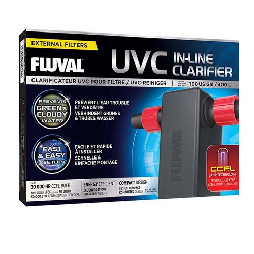 Fluval UVC Inline Clarifier Unit 3w