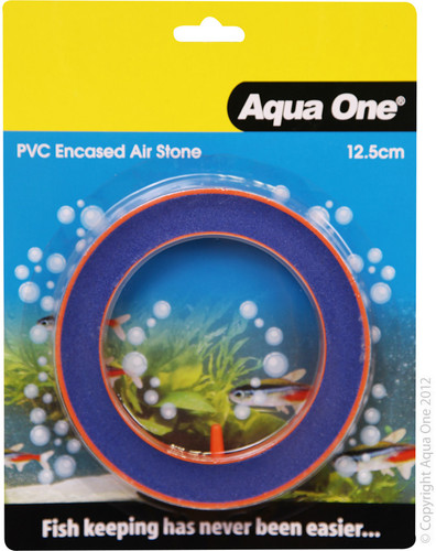 Aqua One Airstone PVC Encased Beauty Round 12.5cm (10150)