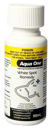 Aqua One White Spot Remedy 50ml (92111)