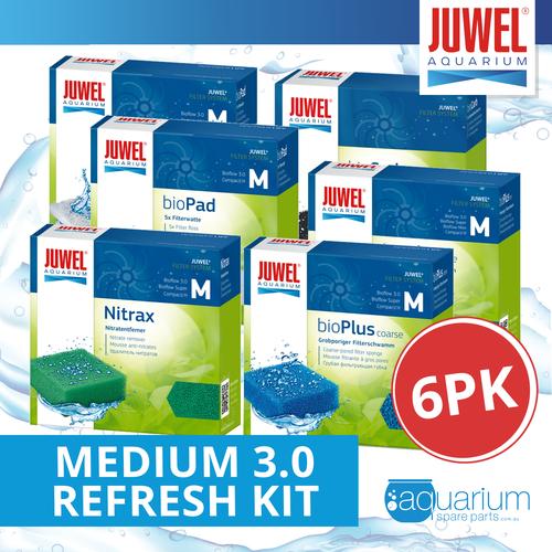 JUWEL Bio Flow Medium 3.0 Refresh Kit (6pk)