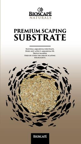 Bioscape Golden Sand Fine 1-2mm - 7kg Bag
