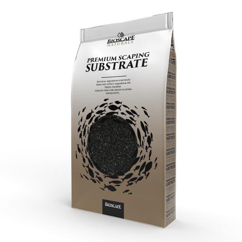 Bioscape Ebony Black Coarse 2-4mm - 7kg Bag