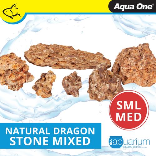 Aqua One Natural Dragon Stone SML/MED (12295-SM)