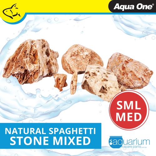 Aqua One Natural Spaghetti Stone SML/MED (12300-SM)