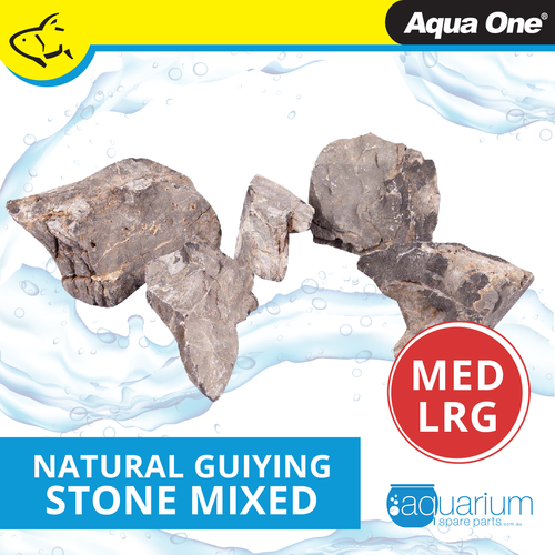 Aqua One Natural Guiying Stone MED/LRG (12297-ML)