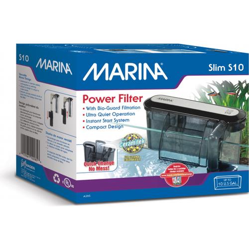 Marina Slim Hang On Power Filter S10