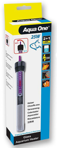 Aqua One Heater 25w - 18.5cm (11301)