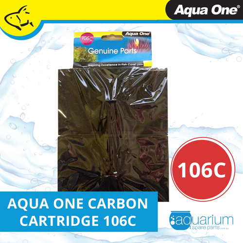 Aqua One EcoStyle 61 Carbon Cartridge (2pk) 106c (25106c)