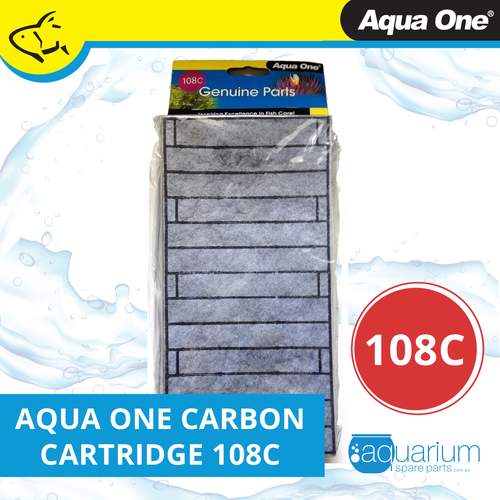Aqua One EcoStyle 81 Carbon Cartridge (2pk) 108c (25108c)