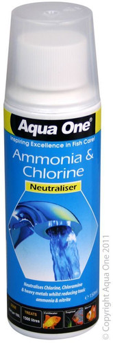 Aqua One Ammonia & Chlorine Neutraliser 150ml (92107)