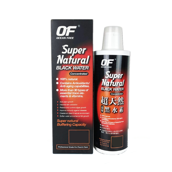 Ocean Free Super Natural Black Water Concentrated Tonic 120ml