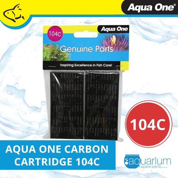 Aqua One EcoStyle 32/37 Carbon Cartridge (2pk) 104c (25104c)