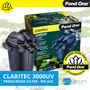Pond One ClariTec 3000UV Pressurised Filter with 9W UVC (93044)