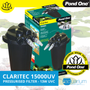 Pond One ClariTec 15000UV Pressurised Filter with 13W UVC (93074)