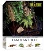 Exo Terra Terrarium Rainforest Habitat Kit Medium Tall (45x45x60)