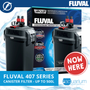 Fluval 407 Canister Filter (up to 500 L)