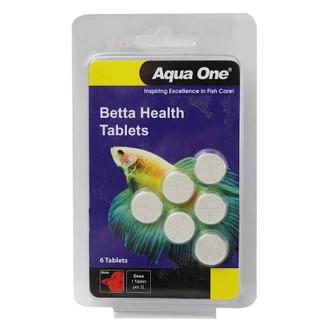 Aqua One Betta Health Tablets 6pk Fish Tank Treatment 95020