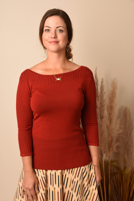 CONSTANCE PULLOVER - 2 Colors