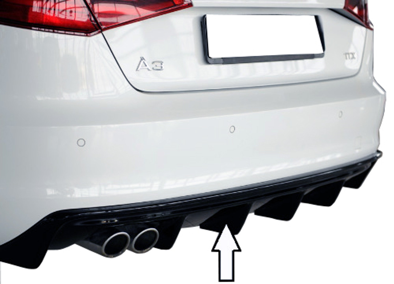 Audi A3 8v Custom Rear Bumper Extension 2012 2016