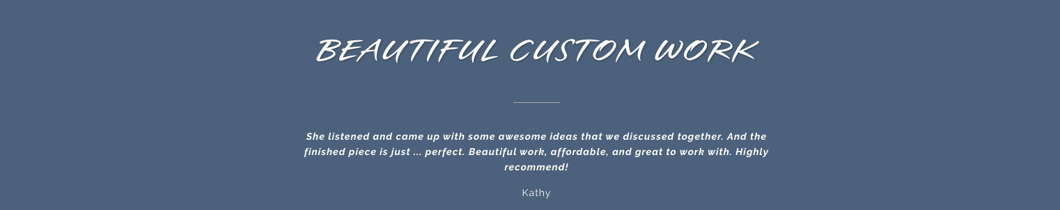 Earth Song Jewelry Customer Review Testimonial 1