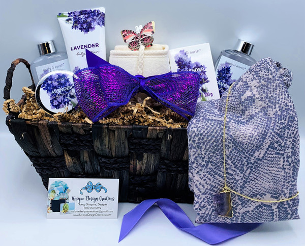 All Things Lavender Gift Basket