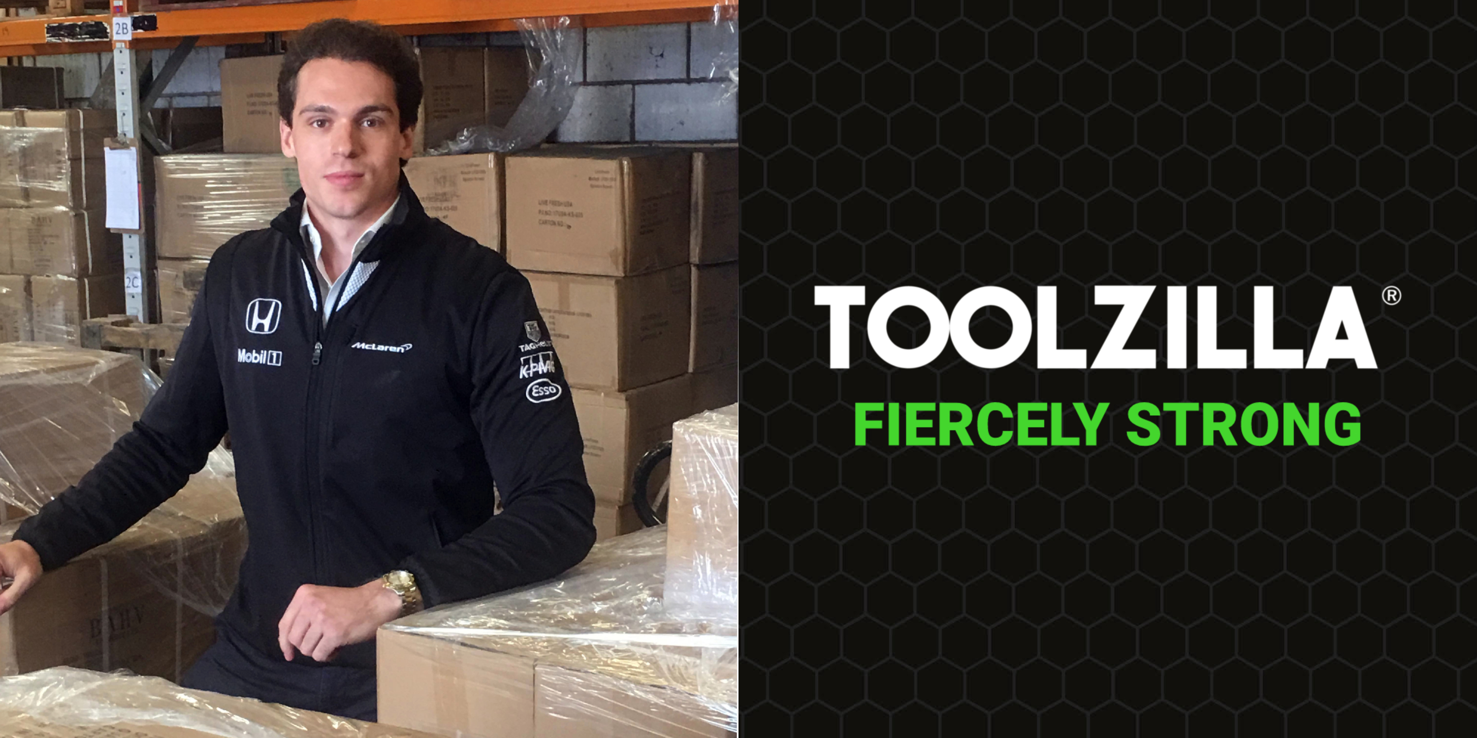 Alex Bell Founder of TOOLZILLA